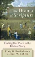 Cover Image: The Drama of Scripture