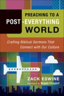 Cover Image: Preaching to a Post-Everything World