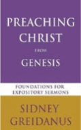 Cover Image: Preaching Christ from Genesis