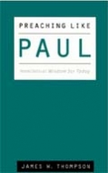 Cover Image: Preaching Like Paul