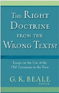 Cover Image: The Right Doctrine from the Wrong Texts?