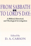 Cover Image: From Sabbath to Lord's Day