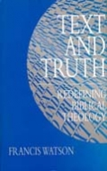 Cover Image: Text and Truth